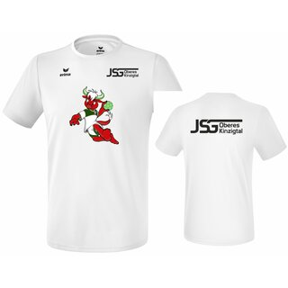 Funktions Teamsport T-Shirt new white